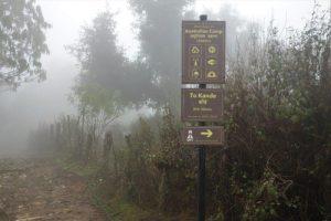trekking from Pokhara ghandruk to australia camp