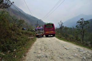 trekking from Pokhara to ghandruk