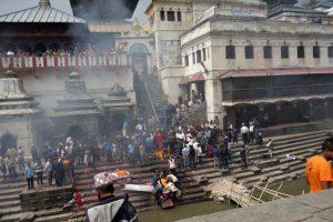 Pashupatinath Temple cremations Kathmandu