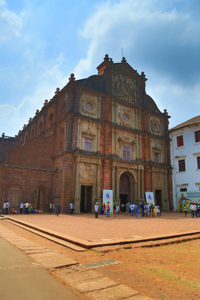 Goa history church front