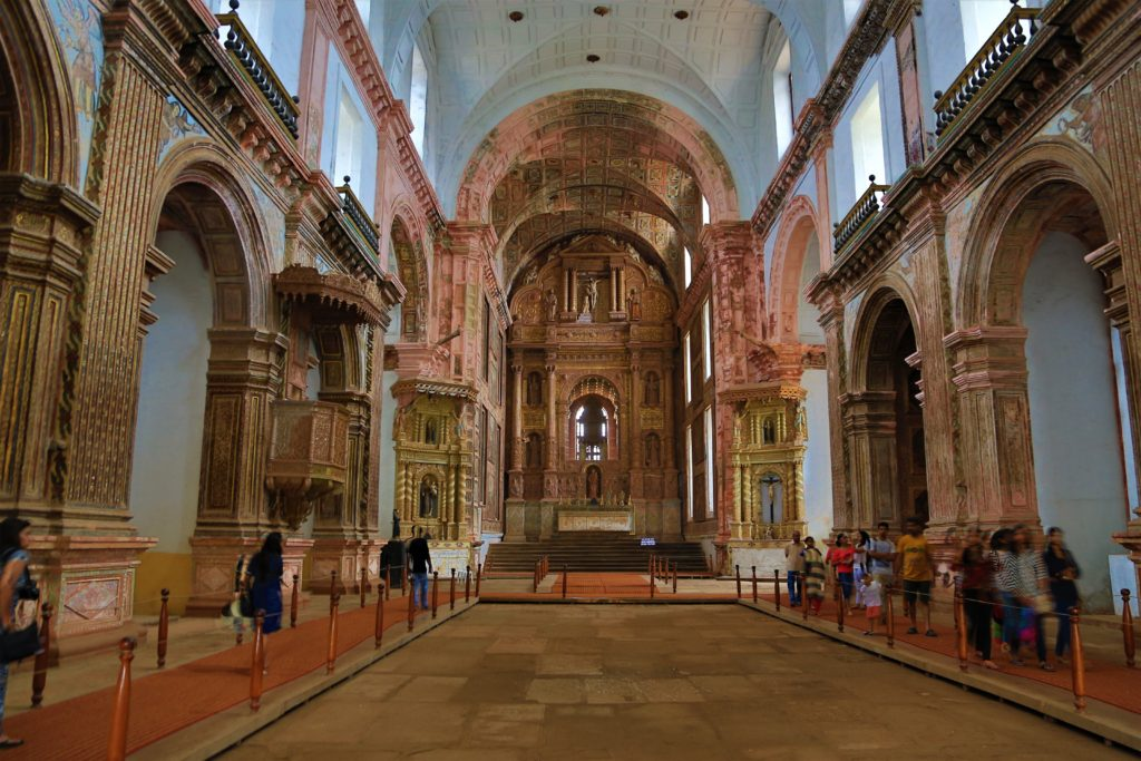 St Francis of Assisi church goa