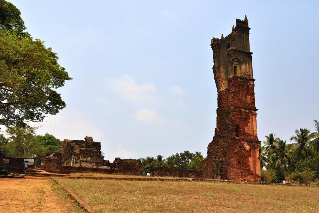 Goa ruined tower