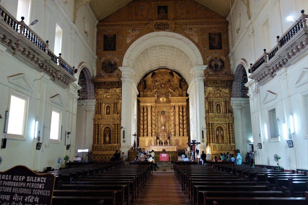 historic church in goa
