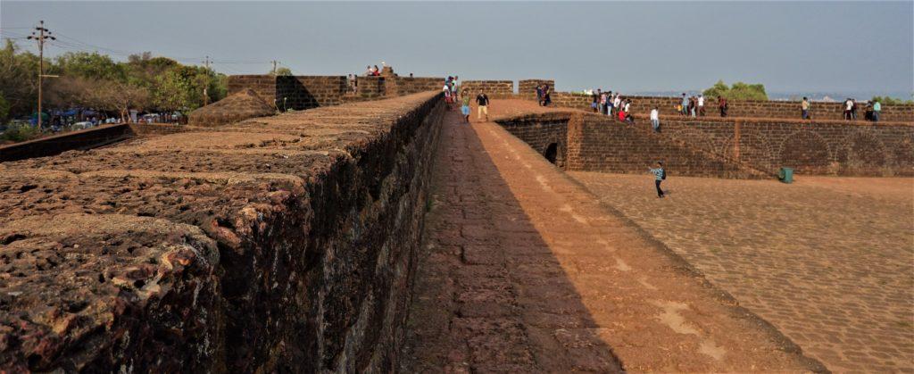 Goa Fort walls