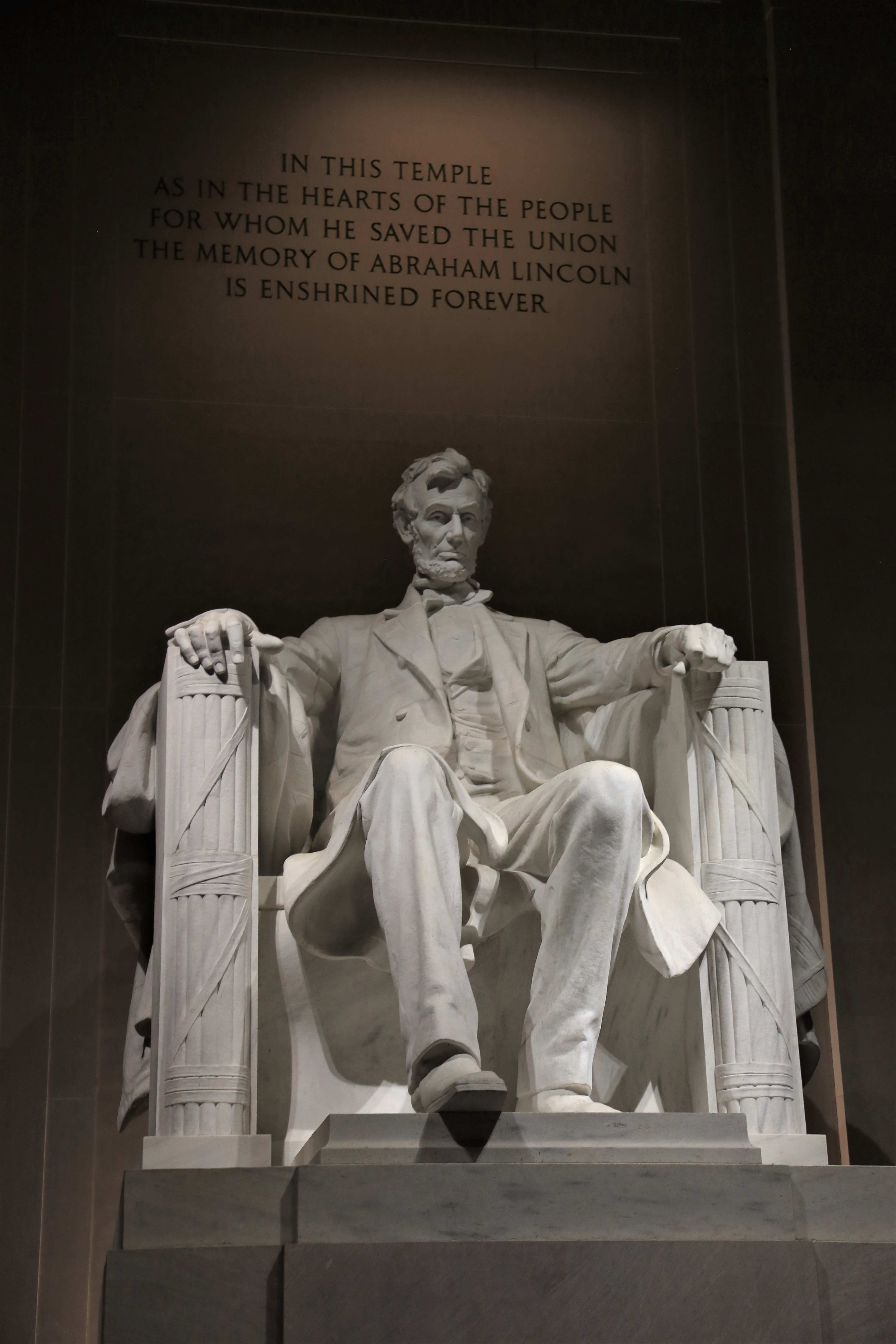 Washington, the place of monuments, Presidents, and squirrels
