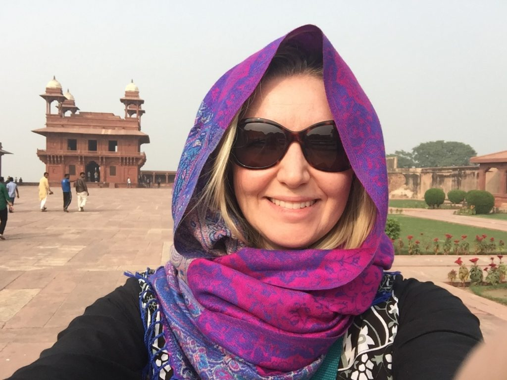 advice for women in India wear a headscarf