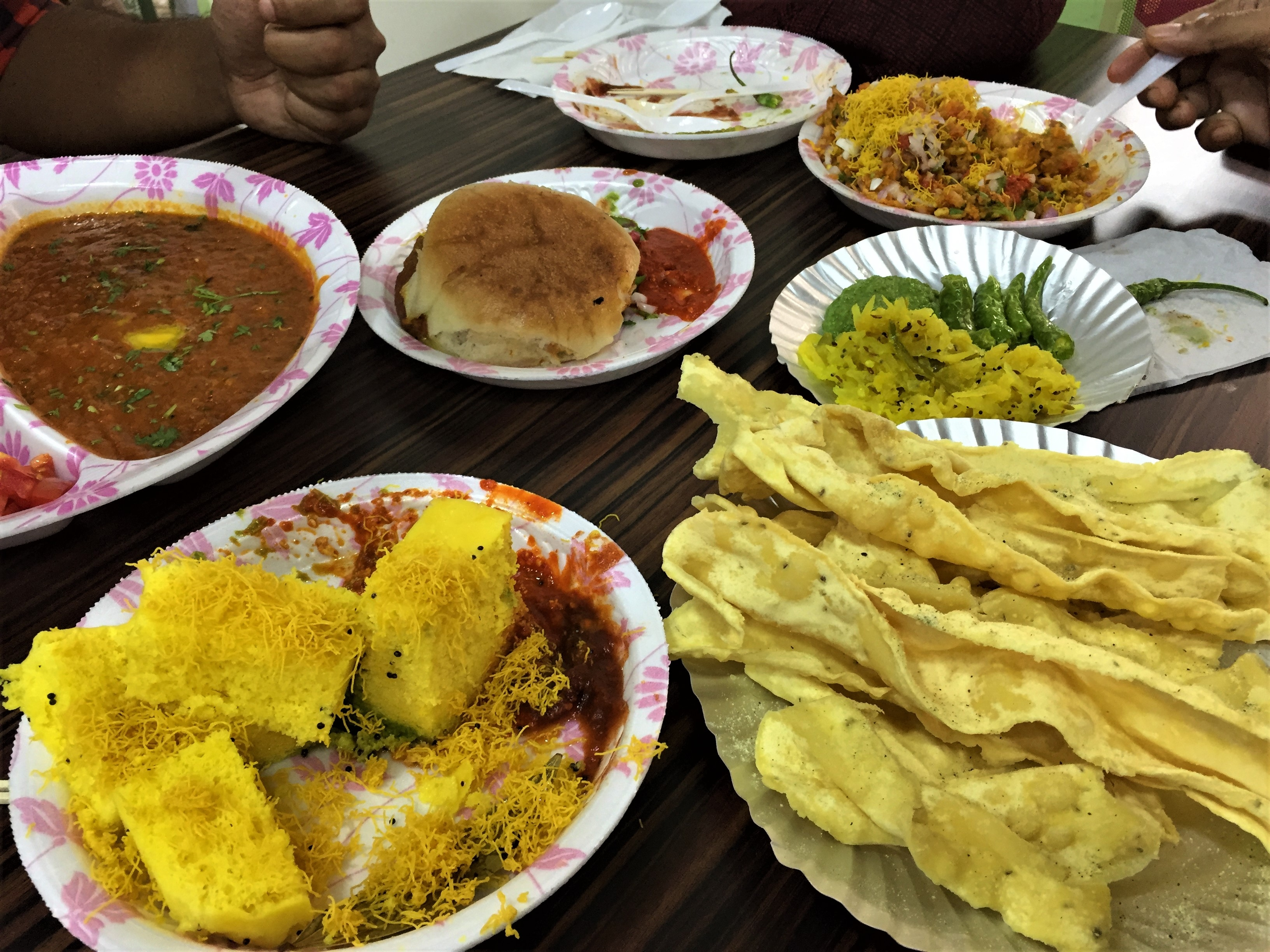 Snacks in india food chaat