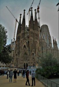 Sagrada Família front