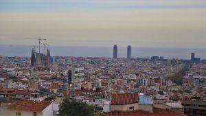 Sagrada Família skyline