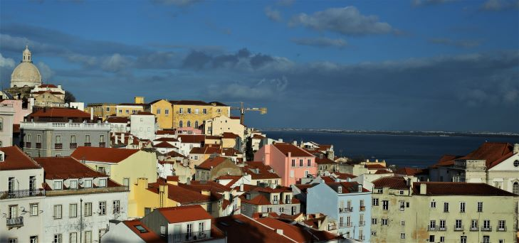 Lisbon; Within my soul I made my towers high; a stronger city than was there before