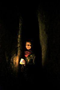 narrow tunnels under Naples