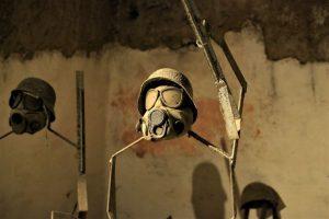 gas mask naples underground