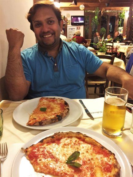 Pizza piano di Sorrento