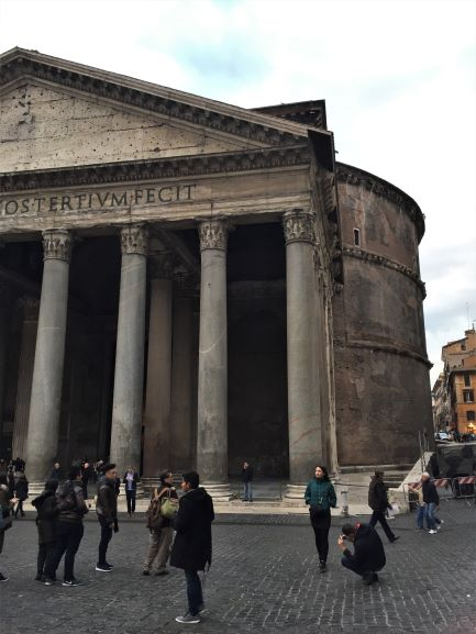 Is the Pantheon Round