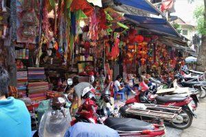 Top Ten Things to do in Hanoi shopping