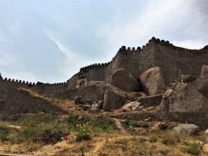 walls of fort things to do in hyderabad