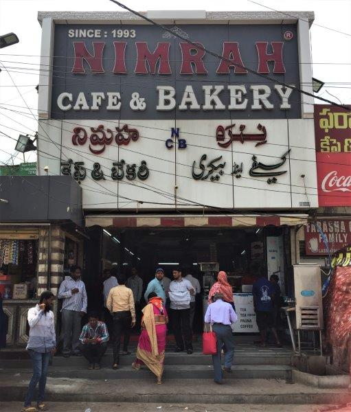 things to do in hyderabad nimrah cafe