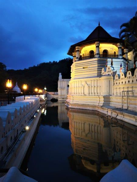 Temple of the sacred tooth Kandy Sri Lanka