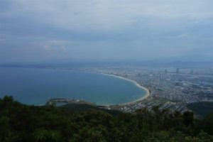Danang city view vietnam