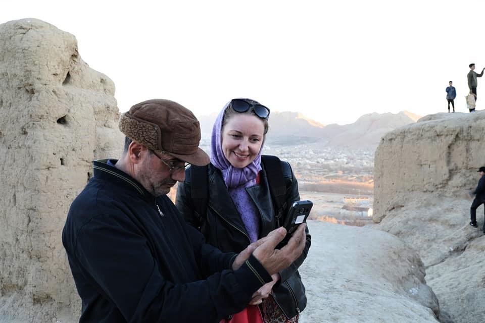 headscarf Iran